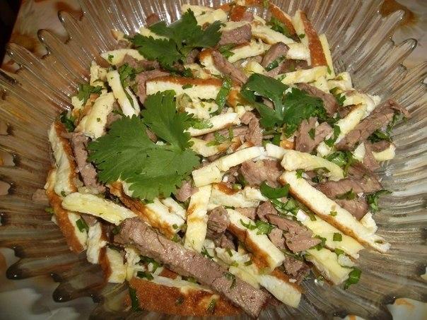 Салаты узбекской кухни рецепт с