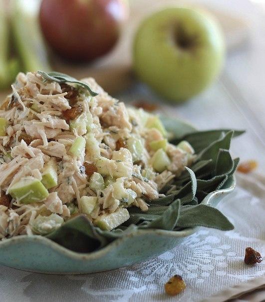 Салат с яблоком рецепт
