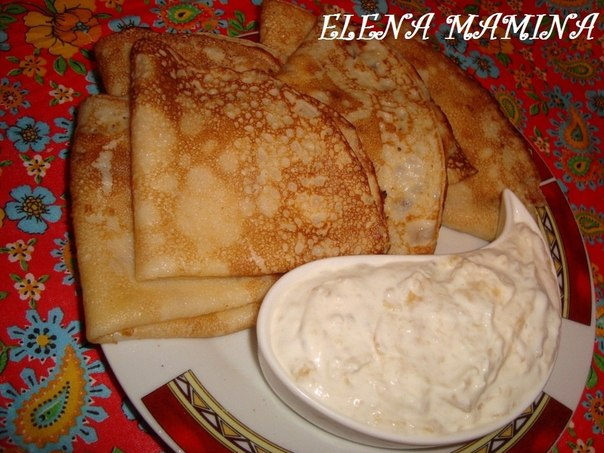 Рецепт блинчики на молоке с мясом рецепт пошагово 94