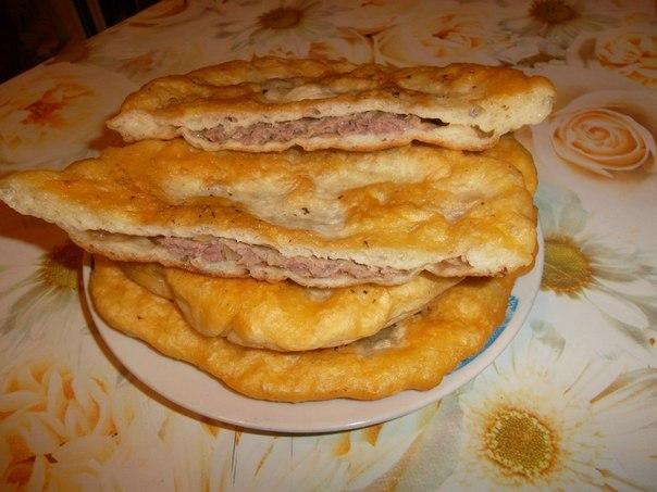 Хычины рецепт с фото пошаговый с мясом