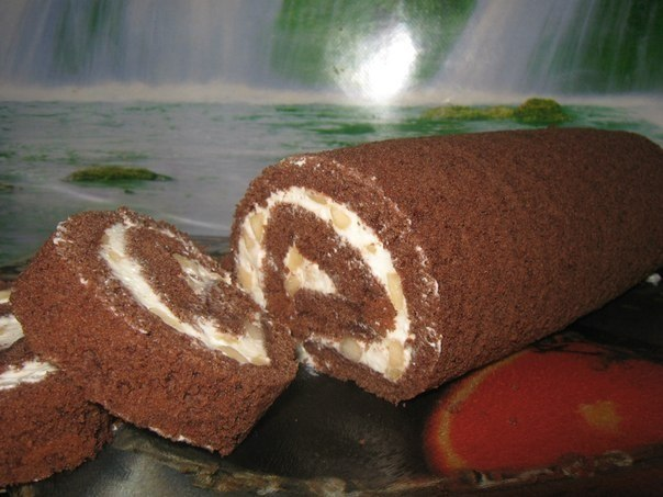 Рецепты рулетов с какао фото