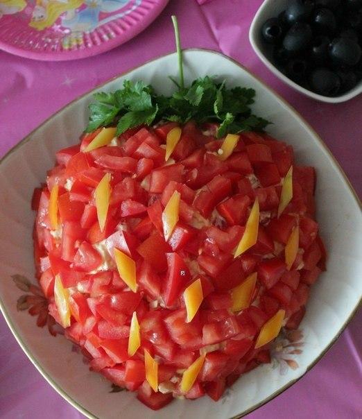 Рецепт салата оригинальный рецепт с