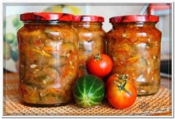С огурцами салаты на зиму рецепты