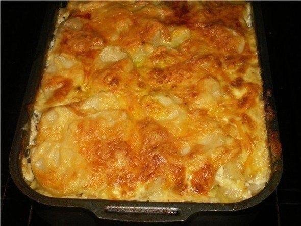 Как сделать запеканку из картошки в духовке