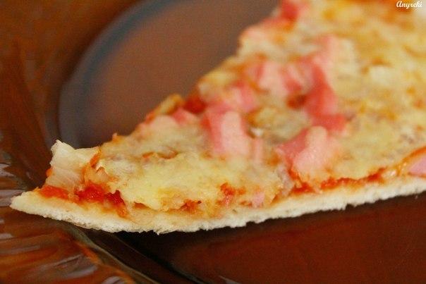 Пицца на сухих дрожжахы