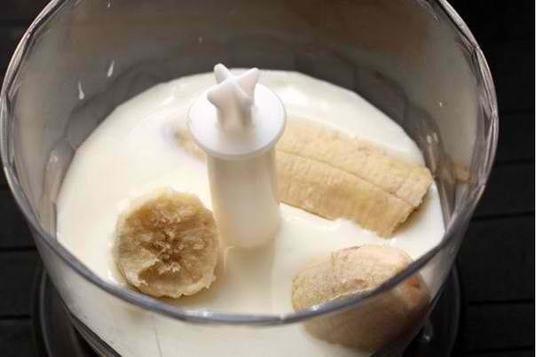 рецепт коктейля с бананом без мороженого